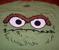 Sesame Street OSCAR THE GROUCH T-Shirt MEDIUM NEW