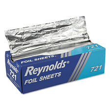 Reynolds Wrap Pop-Up Interfolded Aluminum Foil Sheets 12 x 10 3/4 Silver 500/Box