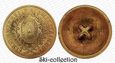 Bouton/ Button- INFIRMIERS MILITAIRES (1875-1914). France. 23 mm. Bronze