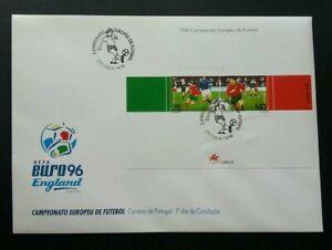 [SJ] Portugal Football Euro'96 England 1996 Sport Games (FDC) *see scan