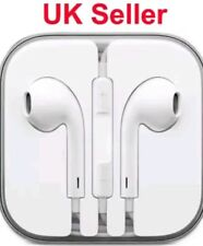 New Apple iPhone 6s 6 Plus 5 5c Ipod Earphones EarPod Headphone Handsfree +Mic-