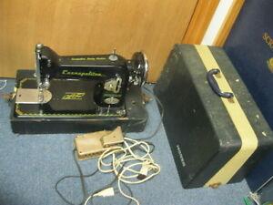 Vintage RARE Morse Cosmopolitan Dial-o-Matic Sewing Machine