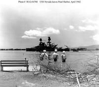 8x6 Gloss Photo ww3ED4 World War 2 Pearl Harbour 8