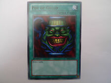Pot Of Greed * Black Rare BP02 * Slight Factory Damage * Yu-gi-oh