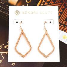 NWT Kendra Scott Sophia Earrings Rose Gold Tone