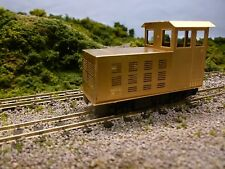009 Etched Brass BodyShell Kit 81 - Battery Electric Locomotive
