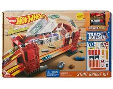Hot Wheels Track Builder Stunt Bridge Kit Racetrack Tricks Toy