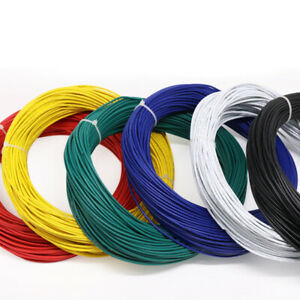 UL1007 Series 28AWG Flexible Silicone Electronic Wire Cable Terminal Wire