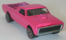Redline Hotwheels Pink 1970 Skyshow Fleetside BEAUTIFUL!!! oc8960