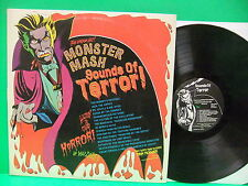 Sounds Of Terror! Featuring Monster Mash 1974 LP Dracula Cover Pickwick SPC 5104