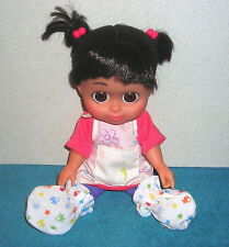 "DISNEY MONSTERS INC. BABBLIN' BABY BOO 12"" HARD PLASTIC DOLL TOY SPECIAL OUTFIT"