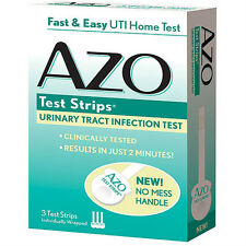 AZO Urinary Tract Infection Test Strips (3)CT 09/2017