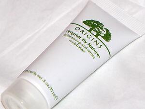 Origins Brighter By Nature Brightening Anti-Stress Moisturizer .5 oz 15 ml