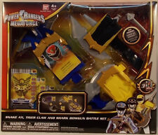 Power Rangers Megaforce Snake Axe & Tiger Claw Battlle Role Play Set Bandai MIB
