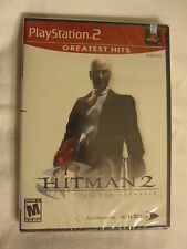 Hitman 2 Silent Assassin (Playstation PS2) GH Brand New, Sealed!