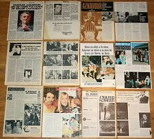 CHARLES AZNAVOUR spain clippings 1960s/70s photos magazine french singer