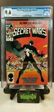 MARVEL SUPER HEROES SECRET WARS #8 CGC 9.6 ORIGIN OF BLACK SUIT 1ST W PGS VENOM
