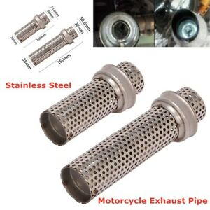 Universal Silencer Pipe Motorcycle Exhaust Pipe Killer Removable Muffler Noise