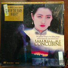 Farewell My Concubine - Letterboxed  Laserdisc Buy 6 for free shipping