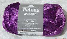 Patons Metallic Yarn in Metallic Dark Purple - New, Smoke Free Home