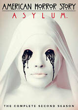 American Horror Story: Asylum - The Complete Second Season 2 (DVD, 2013, 4-Disc)
