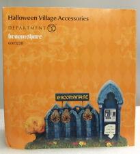 "Dept 56 Village Series Halloween ""Broomshare"" ""Brand New"""