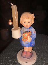 Goebel w Germany Hummel Figurine 775 1986 Girl with Candle