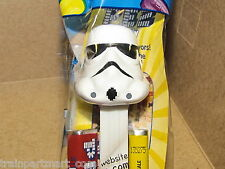 Stormtrooper 2013 STAR WARS COLLECTABLE PEZ DISPENSER & CANDY NEW IN SEALED BAG