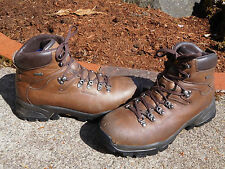 VASQUE 7134 GORE-TEX BROWN LEATHER HIKING BOOTS SIZE 11.5 M