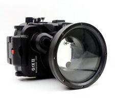 Meikon 40m/130ft Underwater Camera Housing for Canon PowerShot G1X II