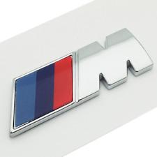 Hot Car M Power Badge Fender Emblem Sticker For BMW E46 E52 E53 E60 E90