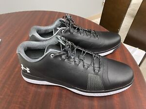 Under Armour Fade RST 3 Golf Shoes 3023330-001 Men's Black New 11.5
