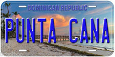 Punta Cana Dominican Republic Novelty Car License Plate P01