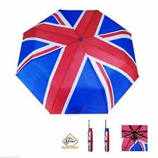 SHINE Brand New London Union Jack Light Weight Umbrella + FREE POSTAGE