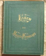 Album du Magasin Pittoresque Cent gravures choisies 1862