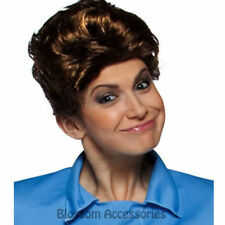 W374 Womens The Brady Bunch Alice 70s TV Show Sitcom Fancy Dress Costume Wig