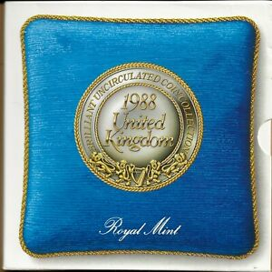 1988 ROYAL MINT BRILLIANT UNCIRCULATED COIN SET