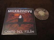 5 Track Promo CD Milk & Sugar Feat. Maria Marquez Canto Del Pilon 2013 Germany