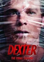 Dexter: The Eighth and Final Season (Season 8) (4 Disc) DVD NEW