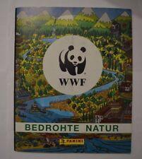 Panini WWF Bedrohte Natur Jahr 1988 / Sammelalbum komplett mit allen Stickern
