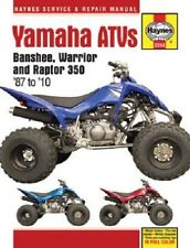 HAYNES SERVICE MANUAL YAMAHA YFM350X WARRIOR 1987-2004, YFZ350 BANSHEE 1987-2006