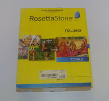 Rosetta Stone Italiano - Level 1 - Mac / Windows - 3 discs plus headset