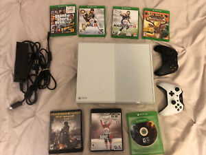 Microsoft Xbox One 500GB White Console with Games