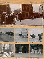 SAINT BRIEUC c. 1920 et 1950 - Planche 15 Photos Côtes d'Armor Bretagne