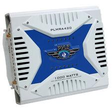Pyle PLMRA420 4 Channel 1000 Watt Marine Amplifier