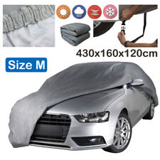 Medium Size 2 Layer Heavy Duty Waterproof Car Cover Cotton Lining Scratch Proof