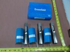 """Greenfield Maintenance Tap, 1-3/8""""-6 NC, 4 FL, 3 HS Taps: Plug, Taper, Bottom"""