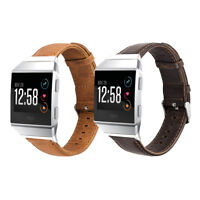 Genuine Leather Watch Band Wrist Strap for Fitbit iOnic Smart Fitness Watch
