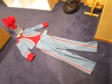 Vintage Milton Wisconsin High School Marching Band Uniform with Hat