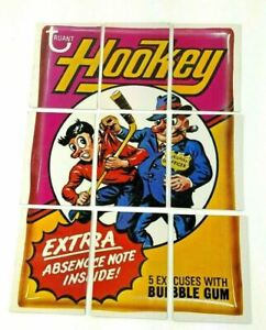 Wacky Packages 9th Series Checklist Chewing Bubble Gum Complete Puzzle Card Set
